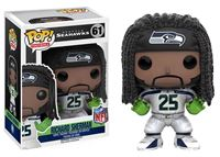Imagen de NFL POP! Football Vinyl Figura Richard Sherman (Seattle Seahawks) 9 cm