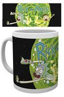 Imagen de Rick y Morty Taza Logo