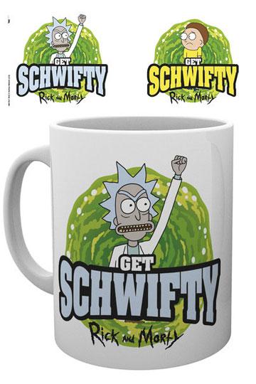 Imagen de Rick y Morty Taza Get Schwifty
