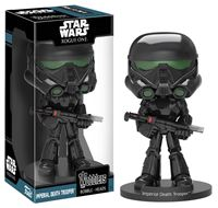 Imagen de Star Wars Rogue One Wacky Wobbler Cabezón Imperial Death Trooper 16 cm