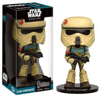 Imagen de Star Wars Rogue One Wacky Wobbler Cabezón Scarif Stormtrooper 15 cm
