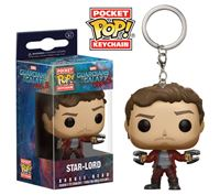 Imagen de Guardianes de la Galaxia Vol. 2 Llavero Pocket POP! Vinyl Star-Lord 4 cm