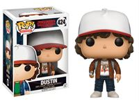 Imagen de Stranger Things POP! Television Vinyl Figura Dustin (Brown Jacket) 9 cm