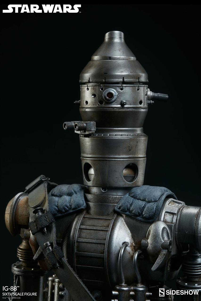 Imagen de Star Wars Figura 1/6 IG-88 Sideshow Exclusive 35 cm