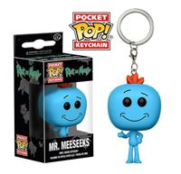 Imagen de Rick y Morty Llavero Pocket POP! Vinyl Mr. Meeseeks 4 cm