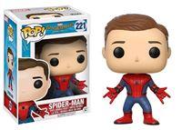 Imagen de Spider-Man de regreso a casa POP! Marvel Vinyl Figura Spider-Man (Unmasked) 9 cm