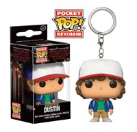Imagen de Stranger Things Llavero Pocket POP! Vinyl Dustin 4 cm