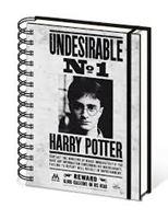 Imagen de Harry Potter CUADERNO A5 UNDESIRABLE