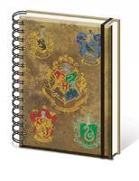 Imagen de Harry Potter CUADERNO A5 HOUSE CRESTS