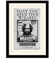 Imagen de Póster Enmarcado Harry Potter  (Sirius Black Wanted )