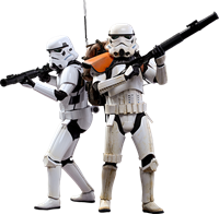 Imagen de Star Wars Rogue One Pack de 2 Figuras Movie Masterpiece 1/6 Stormtroopers 30 cm