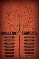 Imagen de Harry Potter Poster Spells and Charms