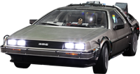 Imagen de Regreso al Futuro Vehículo Movie Masterpiece 1/6 DeLorean Time Machine