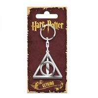 Imagen de Harry Potter Llavero metálico Deathly Hallows 5 cm