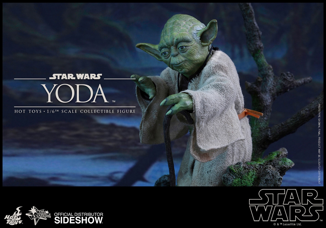 Imagen de Star Wars Episode V Figura Movie Masterpiece 1/6 Yoda 13 cm