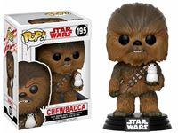 Imagen de Star Wars Episode VIII POP! Vinyl Cabezón Chewbacca & Porg 9 cm