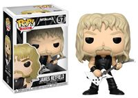 Imagen de Metallica POP! Rocks Vinyl Figura James Hetfield 9 cm