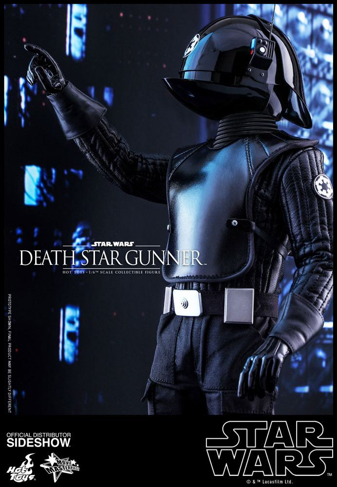 Imagen de Star Wars Episode IV Figura Movie Masterpiece 1/6 Death Star Gunner 30 cm