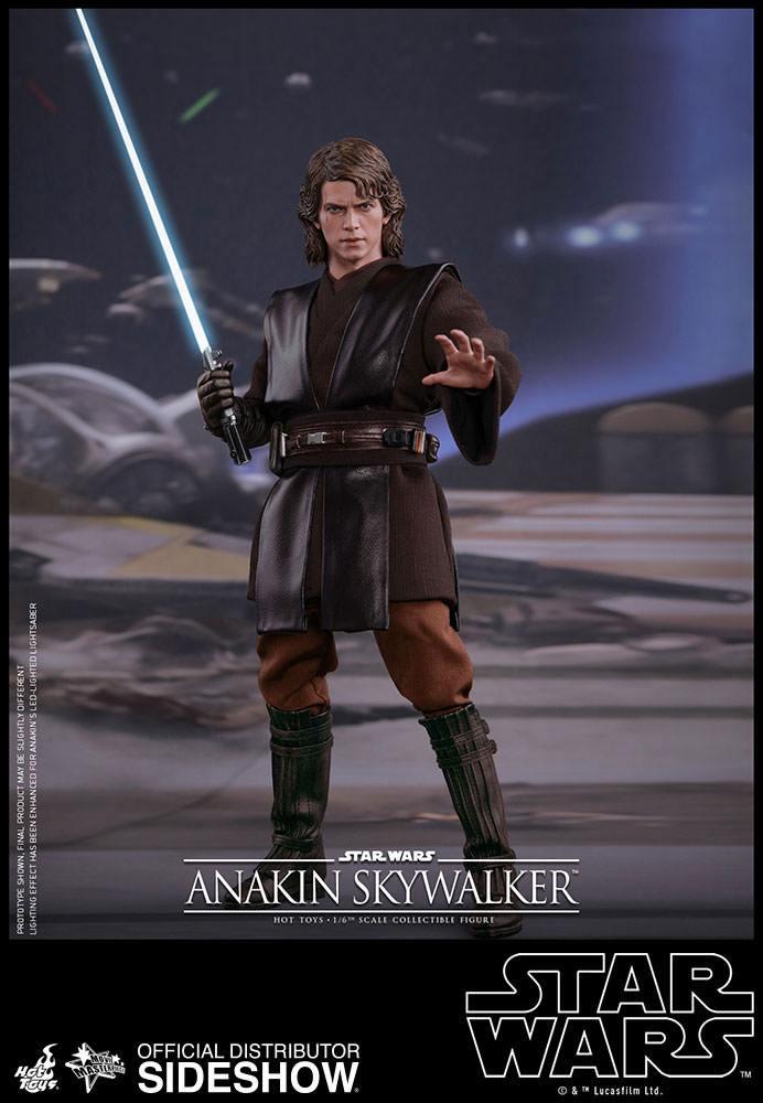 Imagen de Star Wars Episode III Figura Movie Masterpiece 1/6 Anakin Skywalker 31 cm