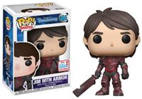Imagen de Trollhunters POP! Television Vinyl Figura Jim Red 2017 Fall Convention Exclusive 9 cm