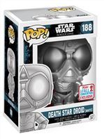 Imagen de Star Wars Rogue One POP! Vinyl Cabezón Death Star Droid (White) 2017 Fall Con EX 9 cm