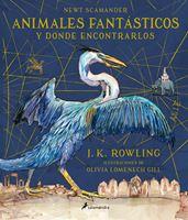 Imagen de ANIMALES FANTASTICOS Y DONDE ENCONTRARLOS ILUSTRADO