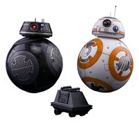 Imagen de Star Wars Episode VIII Pack de 2 Figuras Movie Masterpiece 1/6 BB-8 & BB-9E 11 cm