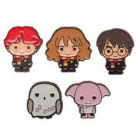 Imagen de Harry Potter Set 5 Pins Kawaii