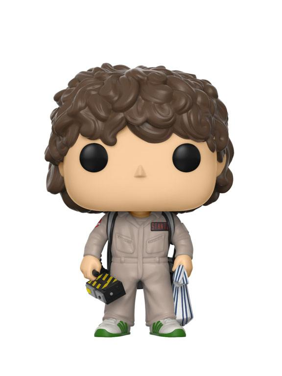 Imagen de Stranger Things POP! TV Vinyl Figura Dustin Ghostbuster 9 cm