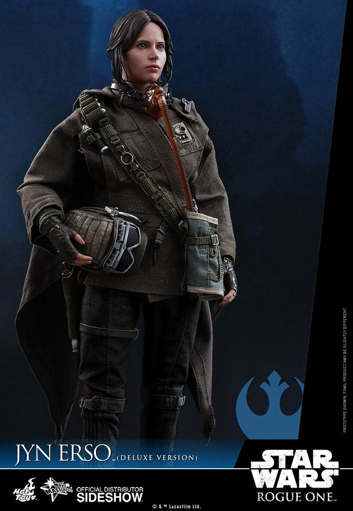 Imagen de Star Wars Rogue One Figura Movie Masterpiece 1/6 Jyn Erso Deluxe Version 27 cm