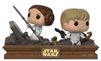 Imagen de Star Wars Pack de 2 POP! Movie Moments Vinyl Cabezón Trash Compactor Escape 9 cm