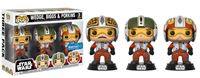 Imagen de Star Wars Pack de 3 Figuras POP! Vinyl Wedge, Biggs & Porkins 9 cm