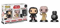 Imagen de Star Wars Episode VIII Pack de 3 Figuras POP! Vinyl First Order 9 cm