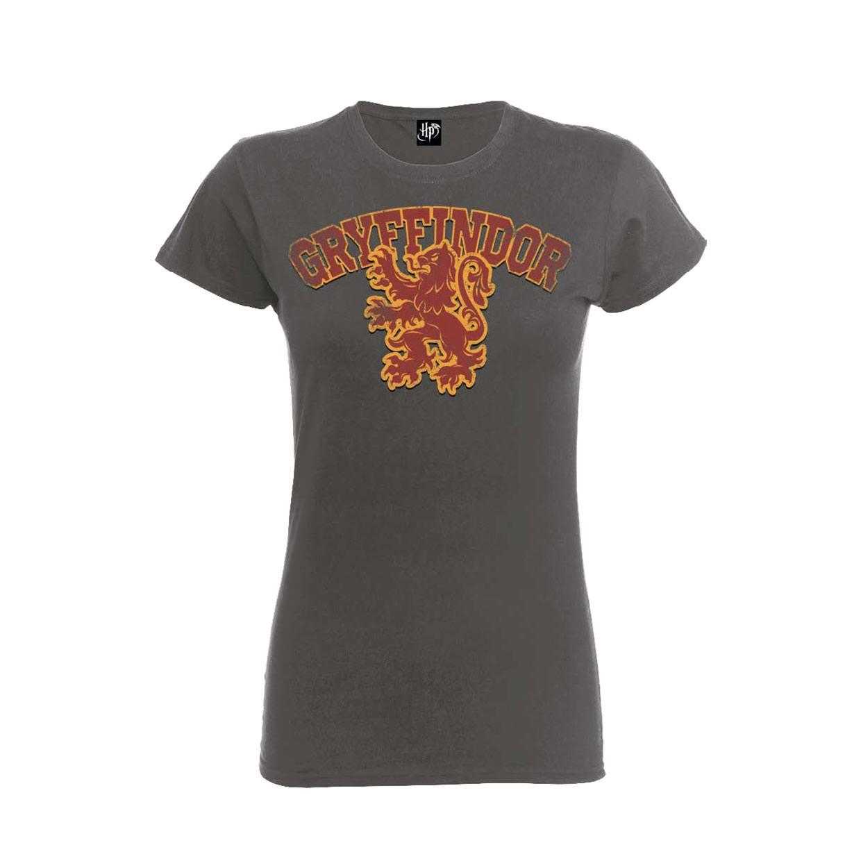 Imagen de Harry Potter Camiseta Chica Gryffindor Gris Talla XL
