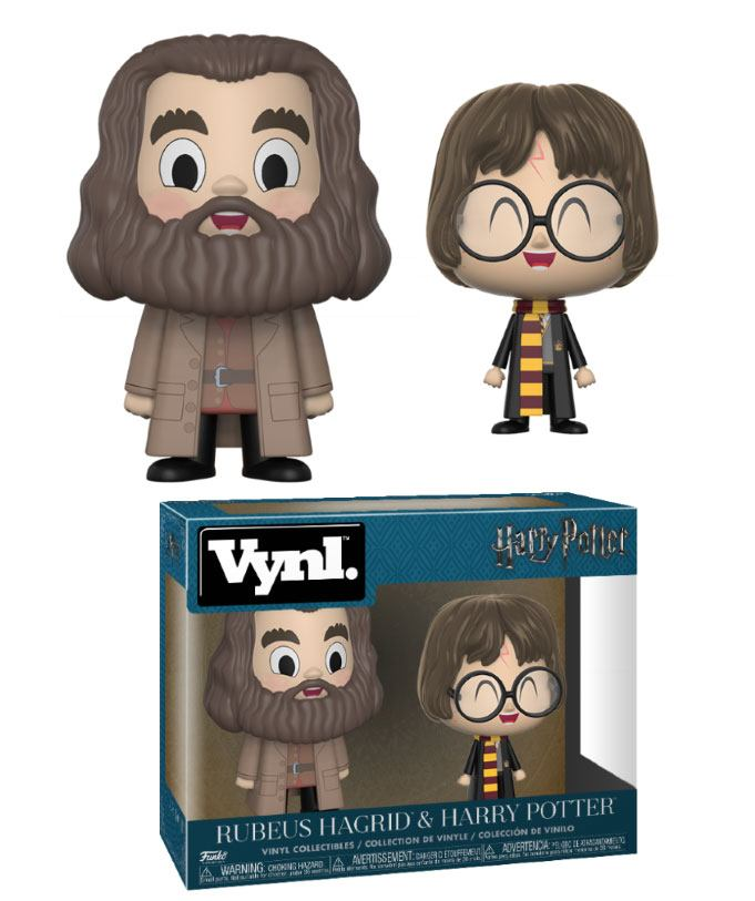 Imagen de Harry Potter Pack de 2 VYNL Vinyl Figuras Hagrid & Harry 10 cm