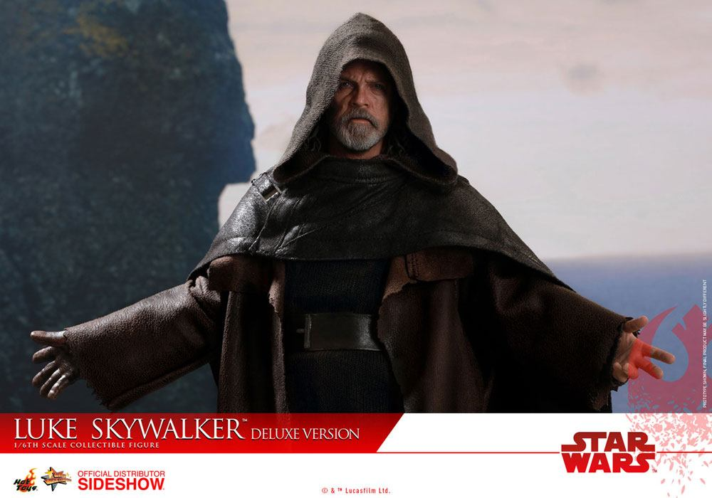 Imagen de Star Wars Episodio VIII Figura Movie Masterpiece 1/6 Luke Skywalker Deluxe Version 29 cm