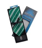 Imagen de Harry Potter Set Corbata y Pin Slytherin