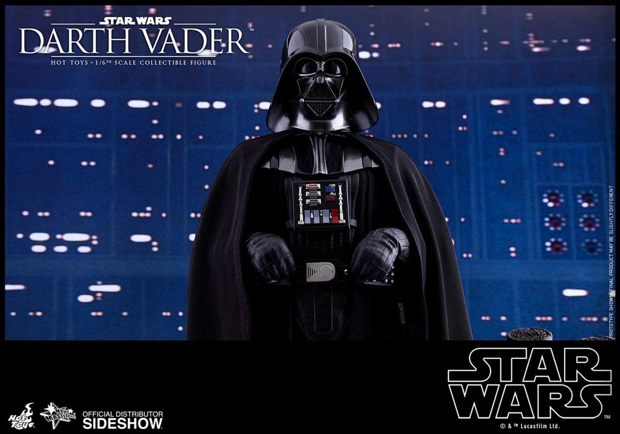 Imagen de Star Wars Episode V Figura Movie Masterpiece 1/6 Darth Vader 35 cm