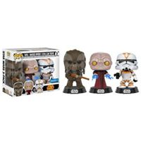 Imagen de FIGURA POP PACK STAR WARS: TARFUL, EMPEROR & UTUPAU