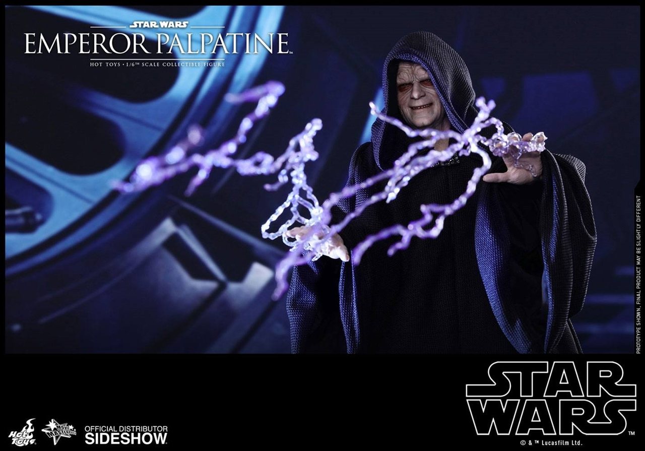 Imagen de Star Wars Episodio VI Figura Movie Masterpiece 1/6 Emperor Palpatine 29 cm