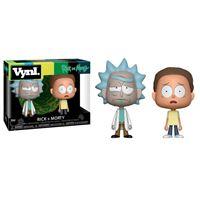 Imagen de Rick y Morty Pack de 2 VYNL Vinyl Figuras Rick & Morty 10 cm