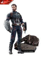 Imagen de Vengadores Infinity War Figura Movie Masterpiece 1/6 Captain America Movie Promo Edition 31 cm